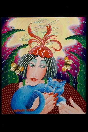 Penny and Bunty, 2010-Tony Todd-Giclee Print