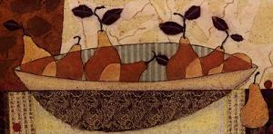 Bowl Of Pears by Penny Feder
