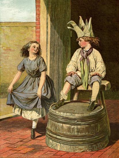 Penny Royal and Columbine, 1866-1895--Giclee Print