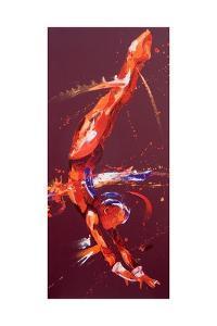 Gymnast Five, 2011 by Penny Warden