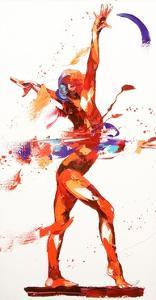 Gymnast Four, 2010 by Penny Warden