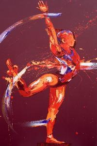 Gymnast Nine, 2011 by Penny Warden