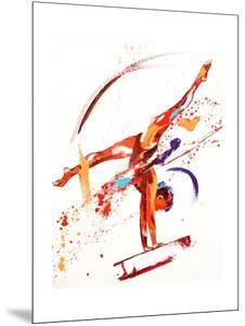 Gymnast One, 2010 by Penny Warden