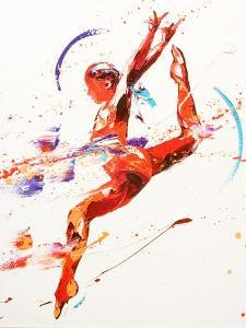 Gymnast Two, 2010 by Penny Warden