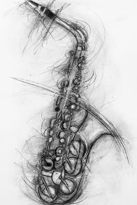 Saxophone 2005 by Penny Warden