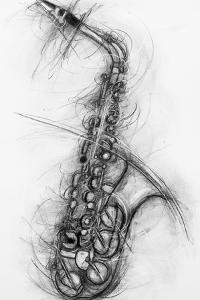 Saxophone 2005 by Penny Warden