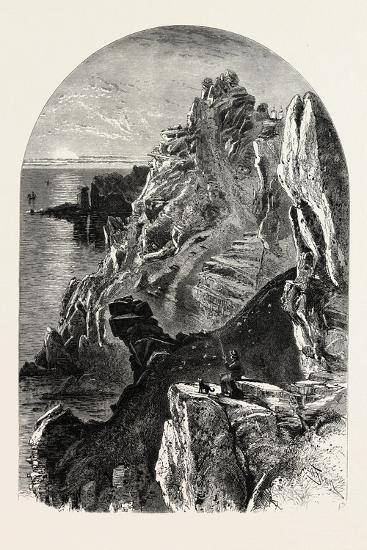 Penolver Point, the South Coast, UK, 19th Century--Giclee Print