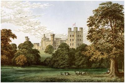 Penrhyn Castle, Caernarvonshire, Wales, Home of Lord Penrhyn, C1880-AF Lydon-Framed Giclee Print
