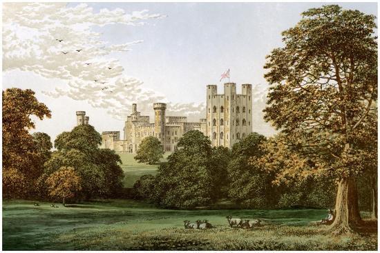 Penrhyn Castle, Caernarvonshire, Wales, Home of Lord Penrhyn, C1880-AF Lydon-Giclee Print