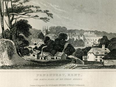 Penshurst, Kent, C.1840--Giclee Print