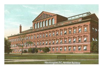 Pension Building, Washington D.C.--Art Print