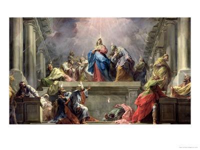 Pentecost, 1732-Jean Restout II-Giclee Print