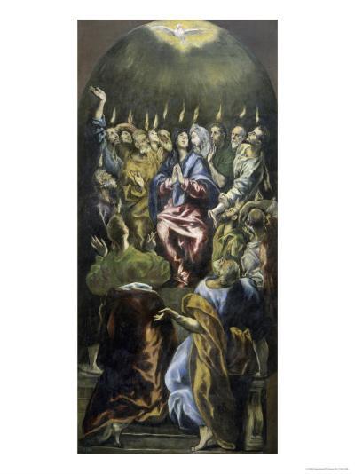Pentecost, c.1600-El Greco-Giclee Print