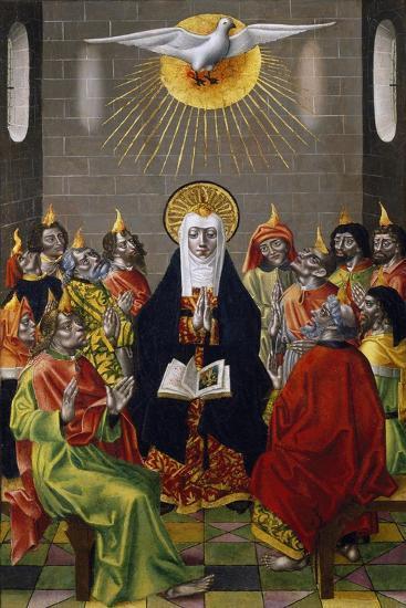 Pentecost, Ca 1450--Giclee Print