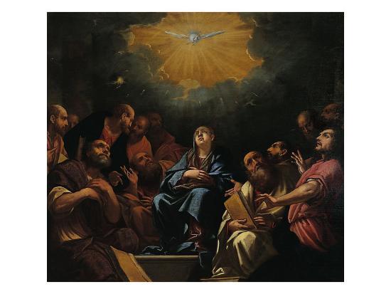 Pentecost-Hayez Francesco-Giclee Print