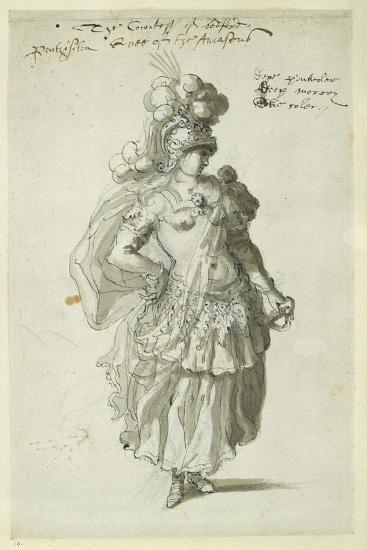 Penthesilea, C.1609-Inigo Jones-Giclee Print