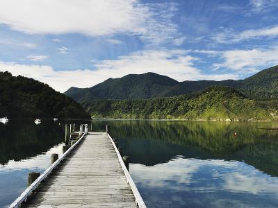 Penzance Bay, Tennyson Inlet, Marlborough Sounds, Marlborough, South Island, New Zealand, Pacific-Jochen Schlenker-Photographic Print