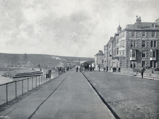 'Penzance - The Esplanade', 1895-Unknown-Photographic Print