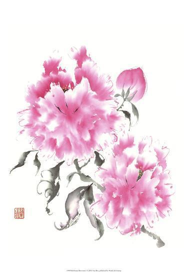 Peonie Blossoms I-Nan Rae-Art Print