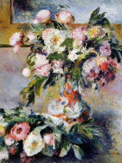Peonies, 1878-Pierre-Auguste Renoir-Giclee Print