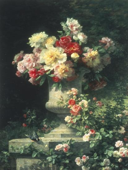 Peonies and Roses-Madeleine Lemaire-Giclee Print