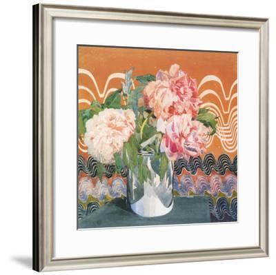 Peonies, c.1920-Charles Rennie Mackintosh-Framed Premium Giclee Print
