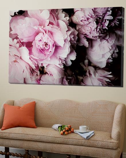 Peonies Galore I-Elizabeth Urquhart-Loft Art