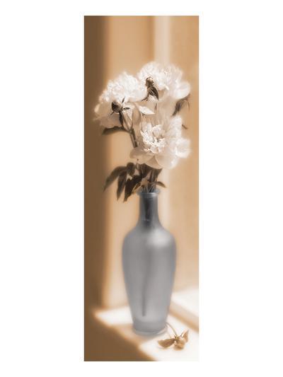 Peonies In A Blue Vase-Christine Zalewski-Art Print