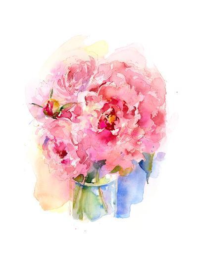 Peony Bouquet, 2016-John Keeling-Giclee Print