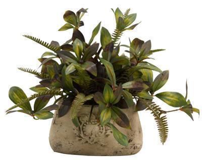 Peony & Fern Signet Planter