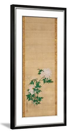 Peony-Tsuruzawa Tangei Moriyoshi-Framed Art Print