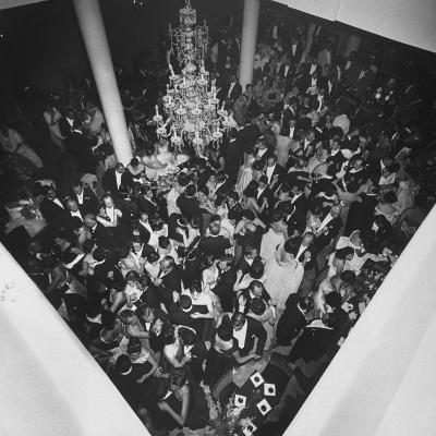 People Dancing at a Party for the Manizales Fair--Photographic Print