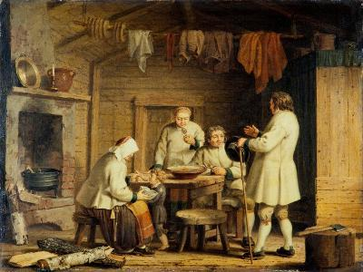 People from Mora in Dalecarlia, c.1800-Pehr Hillestrom-Giclee Print