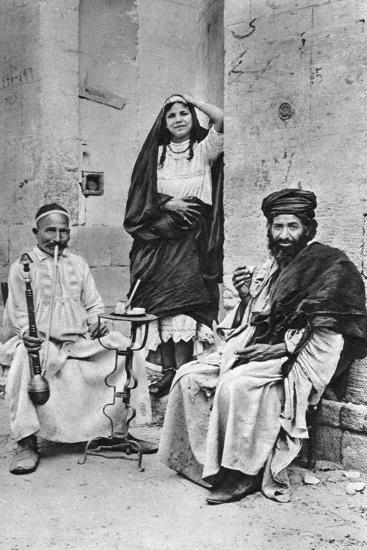 People of Cairo, Egypt, C1922-Donald Mcleish-Giclee Print