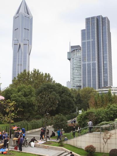 People's Square, Shanghai, China, Asia-Amanda Hall-Photographic Print