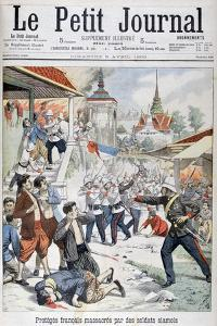 People under French Protection Massacred by Siamese Soldiers, Siam, 1903