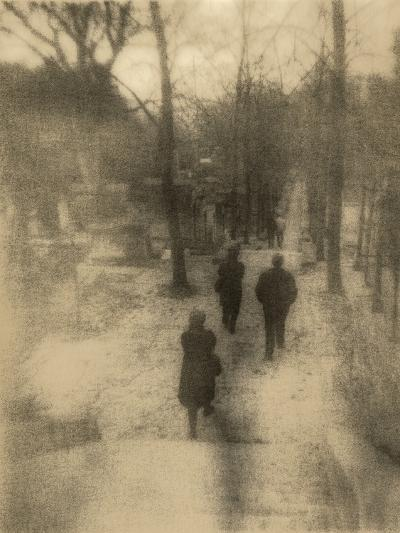 People Walking-Kevin Cruff-Photographic Print