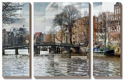 Zwaneburgwal Canal by Pep Ventosa
