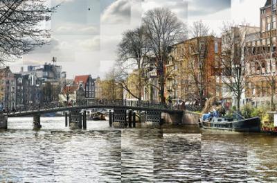 Zwanenburgwal Canal by Pep Ventosa