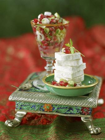 Chevre with Pomegranate Salsa