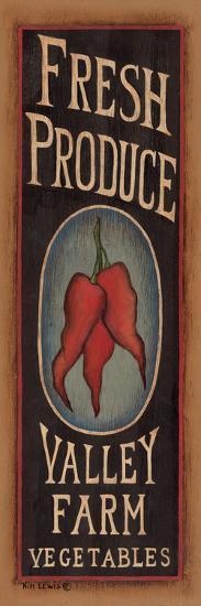 Peppers-Kim Lewis-Art Print