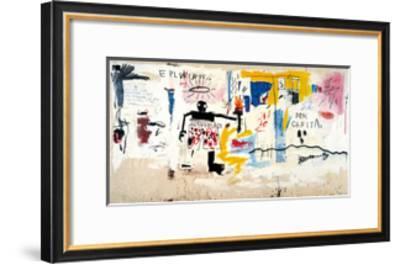 Per Capita, 1981-Jean-Michel Basquiat-Framed Giclee Print