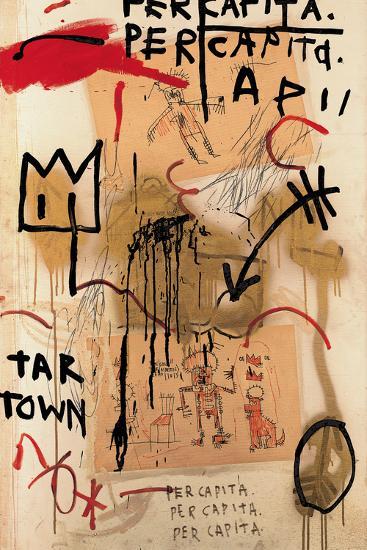 Per Capita, 1982-Jean-Michel Basquiat-Giclee Print