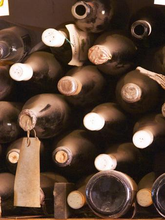 Bottles in Tasting Room, Bodega Pisano Winery, Progreso, Uruguay
