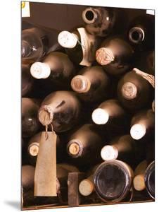 Bottles in Tasting Room, Bodega Pisano Winery, Progreso, Uruguay by Per Karlsson
