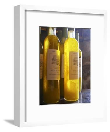 Bottles of Olive Oil, Chateau Vannieres, La Cadiere d'Azur, Bandol, Var, Cote d'Azur, France