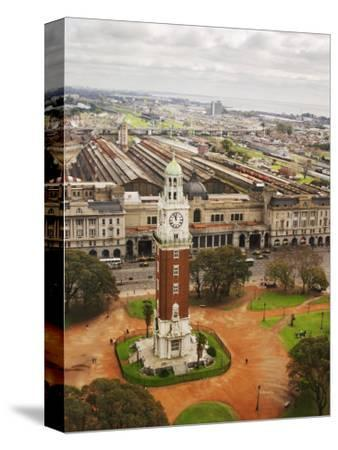 Clock Tower Called Torre De Los Ingleses on the Plaza San Martin Square, Buenos Aires, Argentina