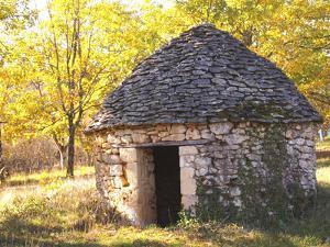 Country Hut of Stone (Borie), Truffiere De La Bergerie, Ste Foy De Longas, Dordogne, France by Per Karlsson