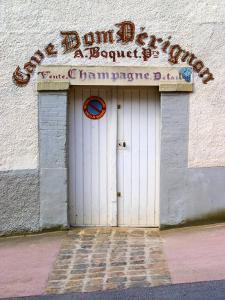 Entrance to Cellar in Cave Dom Perignon, Hautvillers, Vallee De La Marne, Champagne, France by Per Karlsson