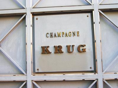 Entrance to Champagne Krug, Reims, Champagne, Marne, Ardennes, France